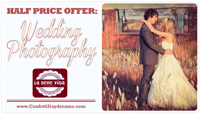 La Belle Vita Photography Wedding Discount Offer