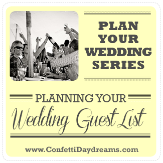 Planning your Wedding Guest List