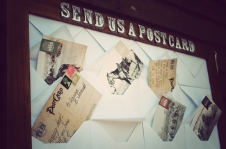 'Send us a Postcard' Message Board'