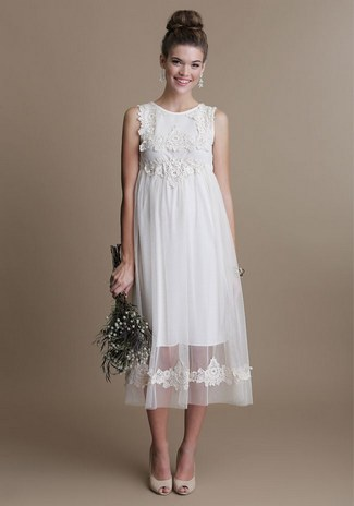 Short wedding dress 1