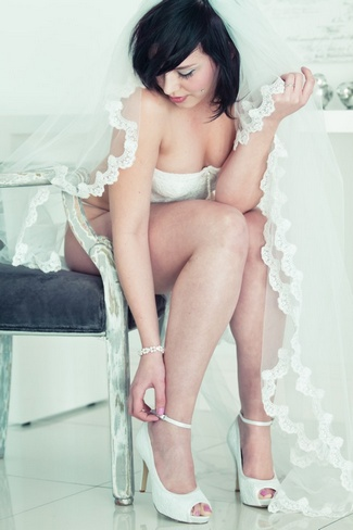 Vintage Seduction Boudoir Shoot