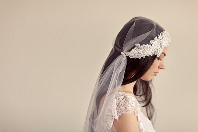 Floor Length Bridal Veils
