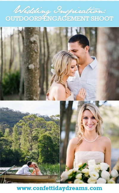Whimsical Outdoors Engagement Shoot New South Wales Australia