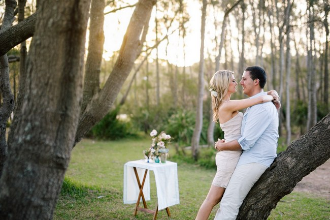 Whimsical Outdoors Engagement Shoot