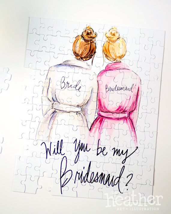 17 Fun Ways to Ask \'Will You Be My Bridesmaid?\' ?