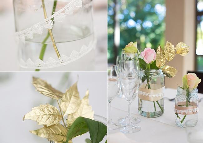 Blush & Gold Outdoor Wedding, Hathersage House Cape Town