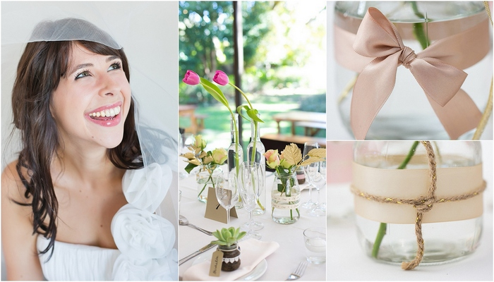 Blush & Metallic Hathersage Wedding, Cape Town