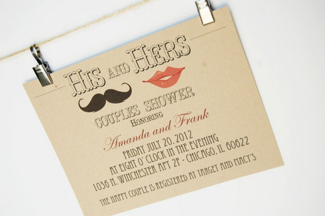 couples shower invitation ideas - Wedding Shower Invites