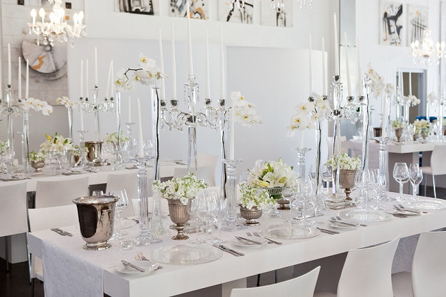 Elegant Black Amp White Allee Bleue Wedding South Africa