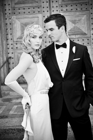 Great Gatsby Wedding Inspiration Styled Shoot