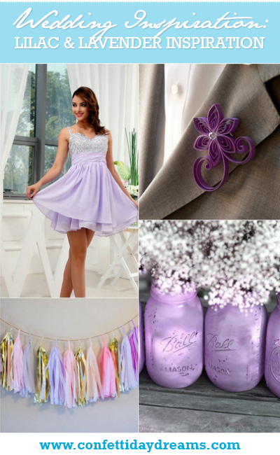 Lilac and Lavender Wedding Ideas
