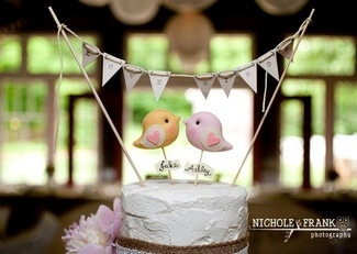 Love Bird Cake Toppers | Gifts Define