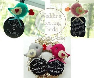 Love Bird Wedding Decor | Gifts Define