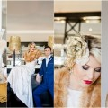 Oh Great Gatsby Blue and Gold Wedding Inspiration Styled Shoot