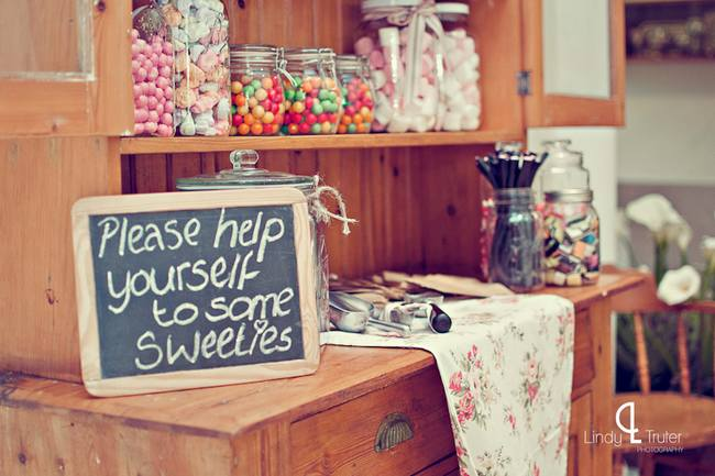 Vintage Candy Coloured Barn Wedding, South Africa