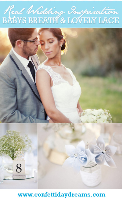 Babys Breath and Lace Real Wedding South Africa