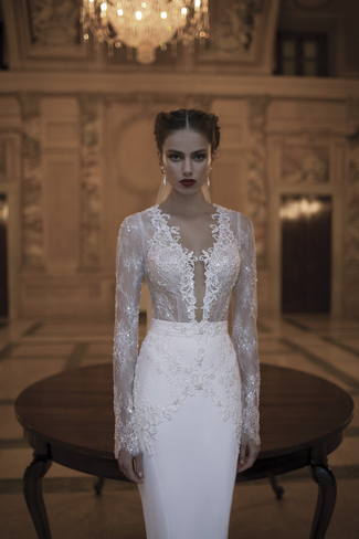 Berta Bridal Couture 2014 Winter Collection |Dress 3