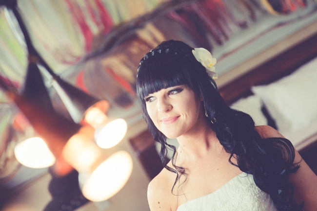 Braided Wedding Hairstyle Half Up Half Down