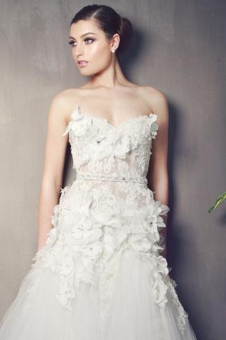 Kobus Dippenaar 2014 Bridal Collection | Flora