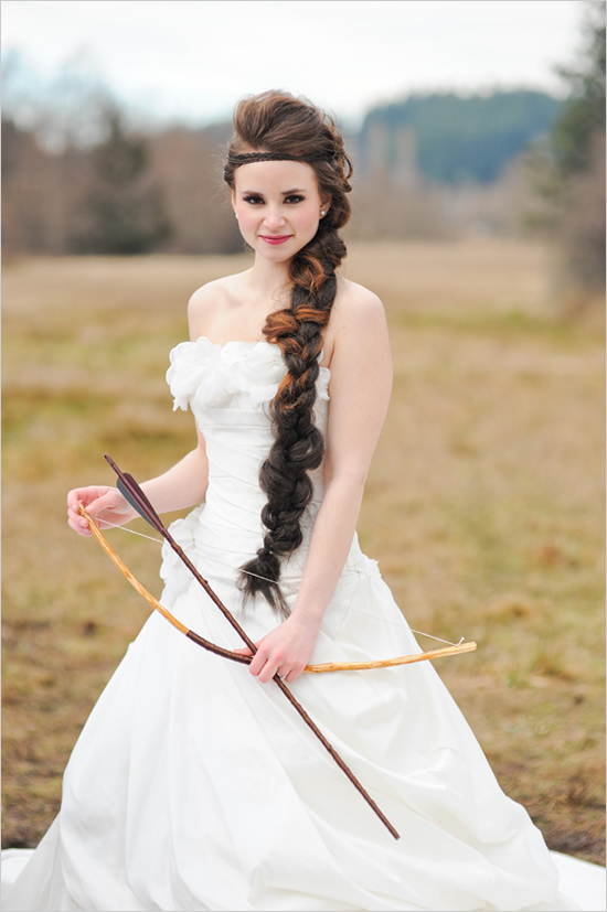 Long Braided Wedding Hairsyle