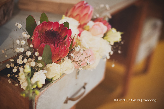 Protea and Rustic Fynbos Inspired Wedding at Langverwagt