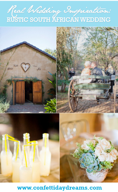 Rustic South African Real Wedding