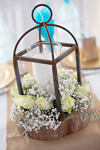 Turquoise Amp White Country Love Wedding Debbie Kelly