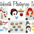 Unique Photobooth Photoprop Ideas {Trendy Tuesday}