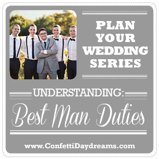 Wedding Planning Series - Best Main Duties