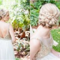 Wrap Around Wedding Braid Updo