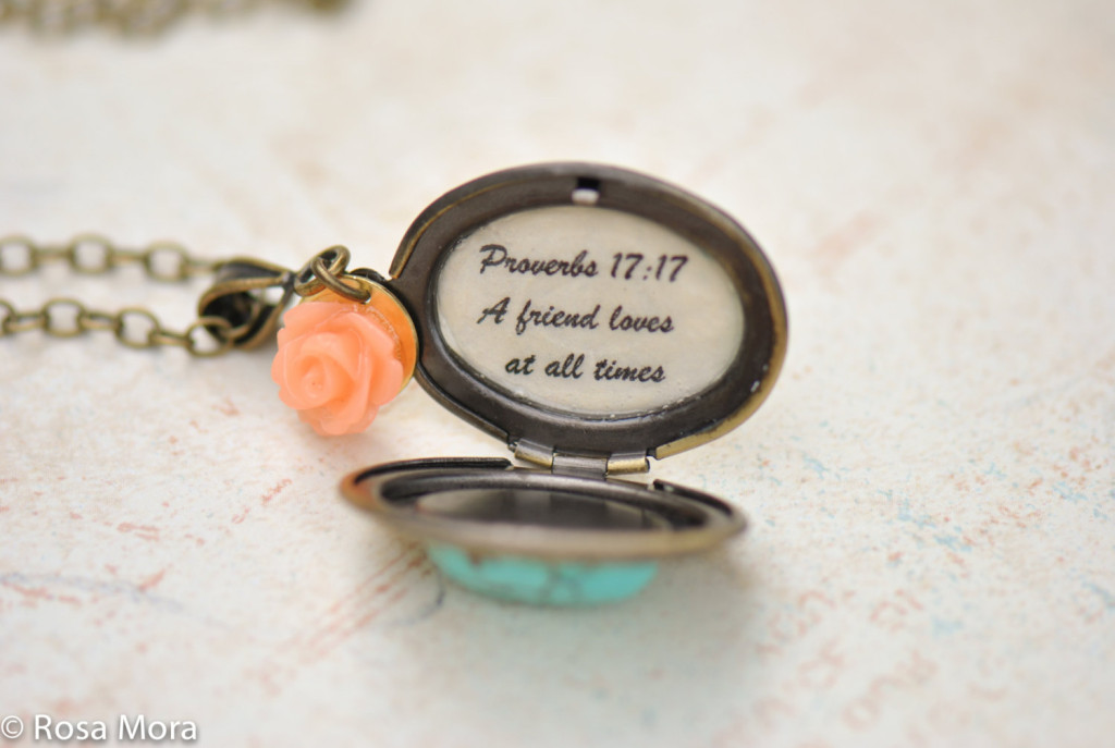 Bridesmaid Gift Idea Locket