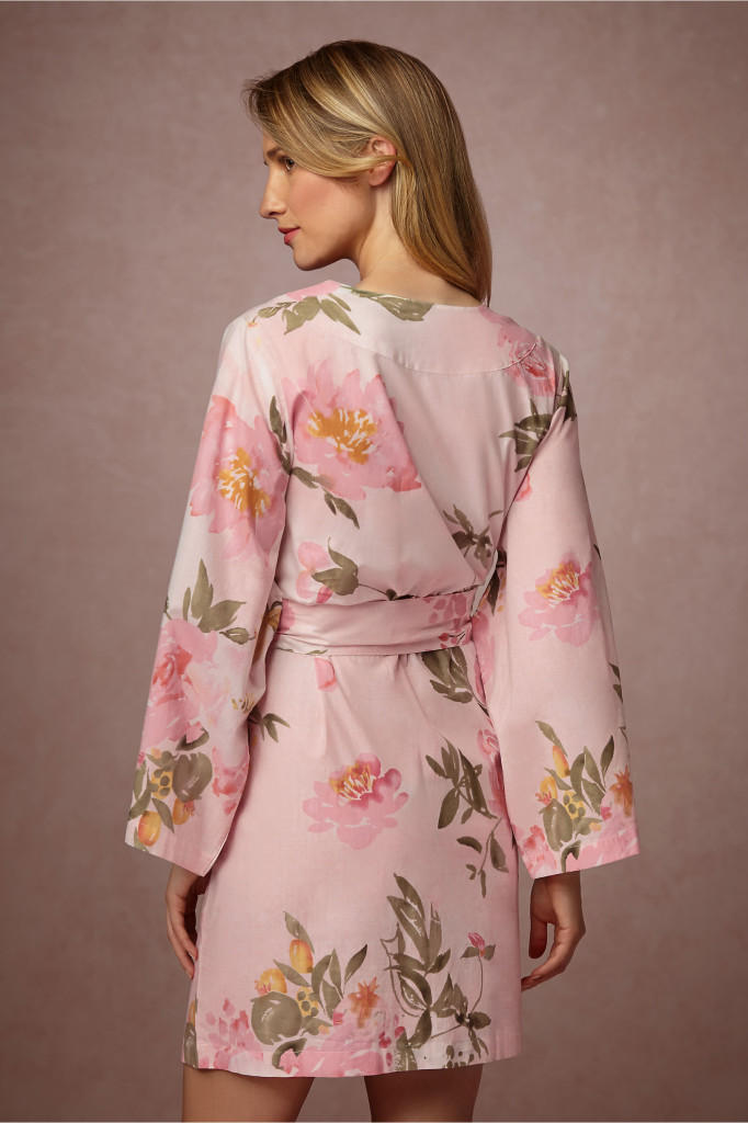 Bridesmaid Gift Ideas - Bridemaid Robes Pink 2