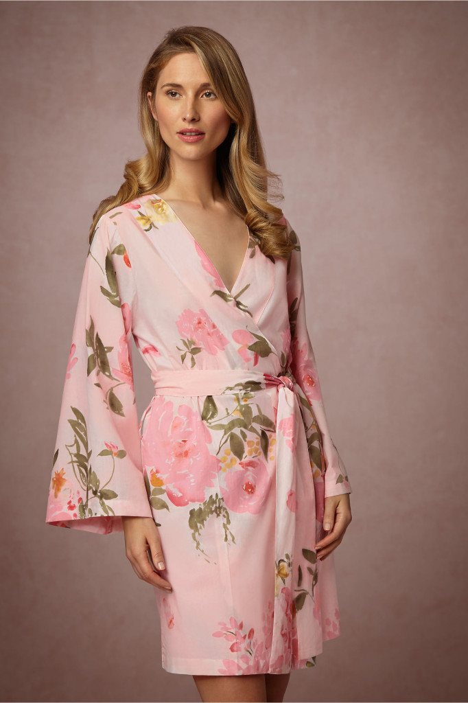 Bridesmaid Gift Ideas - Bridemaid Robes Pink
