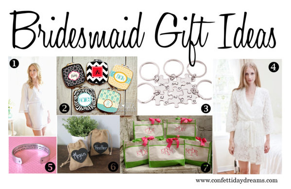 Bridesmaid Gifts Ideas {Trendy Tuesday}