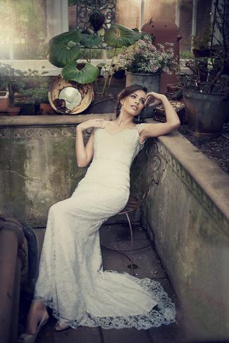 Elbeth Gillis 2014 Bridal Collection {Exclusive Premiere}   Edith