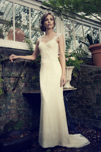 Elbeth Gillis 2014 Bridal Collection {Exclusive Premiere}   Zelda