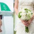 Green and White Rustic Knoxville Outdoor Wedding