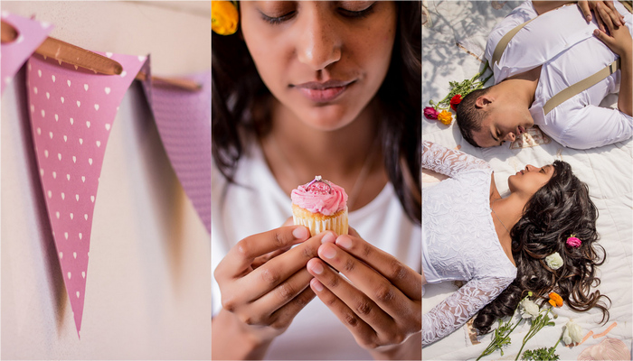 Love and Baking Flour: Kitchen Engagement Session