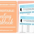 Wedding Seating Workbook Printable Table Planner