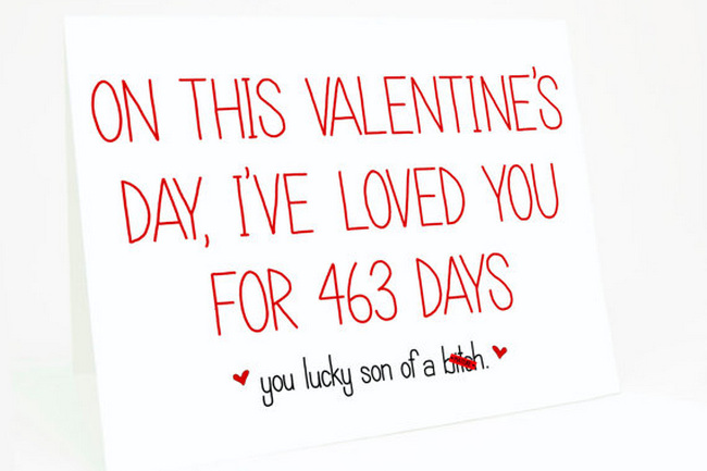 Cheeky Valentineu0027s Day Card