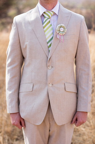 Blush and Green Rustic Outdoor Farm Wedding