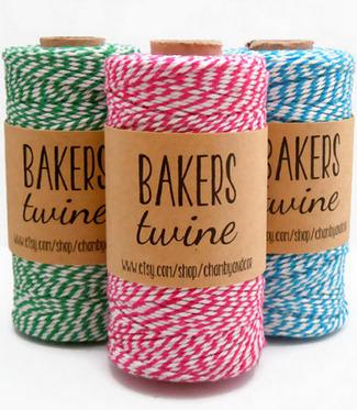 Chevron Baker's Twine {Wedding Trends}