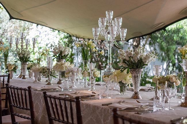 Glamorous vintage white wedding johannesburg fabulously glamorous vintage white wedding johannesburg junglespirit Choice Image