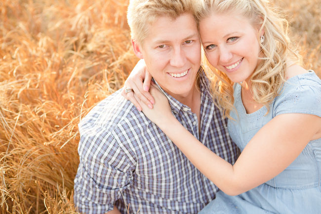Fields of Love Shoot - Outdoor Engagement Session (1)