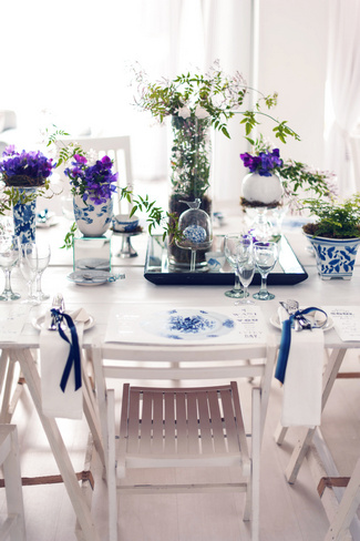 Navy & White West Coast Beach Wedding, Western Cape
