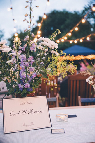 Outdoor Garden Wedding, Cornwall