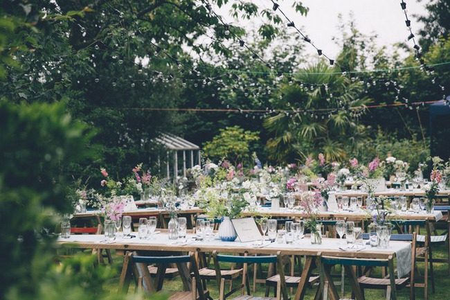 Love filled outdoor garden wedding cornwall outdoor garden wedding cornwall junglespirit Image collections