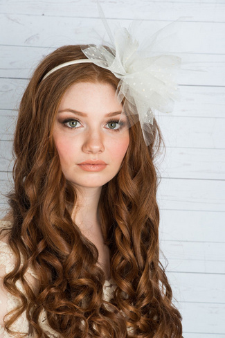 2014 Blair Nadeau Millinery Bridal Collection | Bette Puff Veil