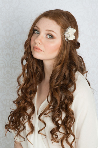 2014 Blair Nadeau Millinery Bridal Collection | Grace Vintage Hair Clip