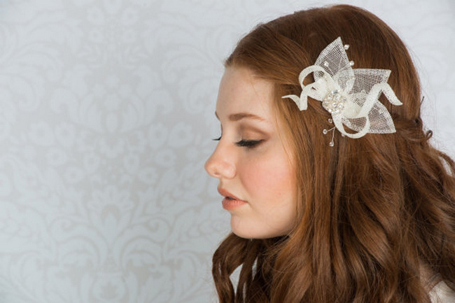 2014 Blair Nadeau Millinery Bridal Collection | Eva Fascinator